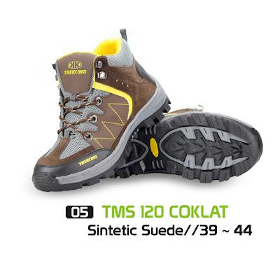 Sepatu Gunung Trekking TMS 120 Coklat