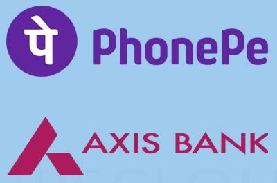 phonepe Axis bank