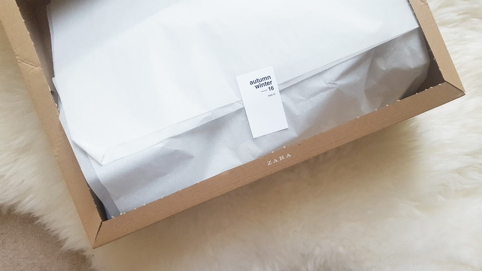 zara packaging
