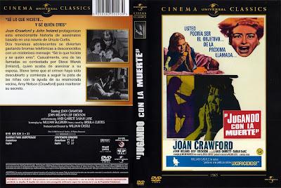 Carátula dvd: Jugando con la muerte (1965) I Saw What You Did