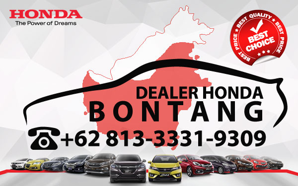 Dealer Honda Bontang - Daftar Harga OTR, Cash Dan Kredit Mobil Baru