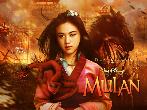 princesses walt disney mulan