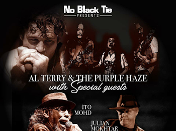 AL TERRY AND THE PURPLE HAZE WITH SPECIAL GUEST