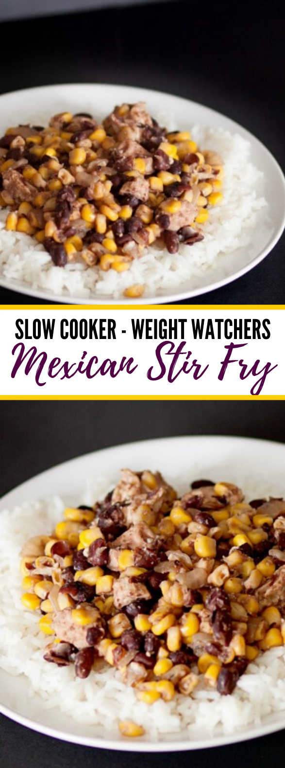 Slow Cooker Mexican Stir Fry #healthy #dinner
