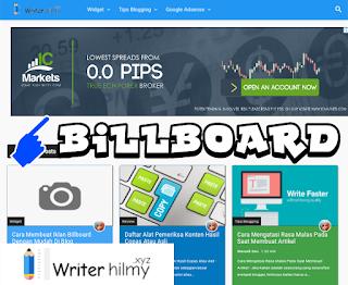 Cara Membuat Iklan Billboard Dengan Mudah Di Blog