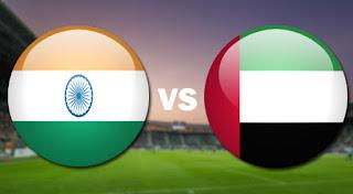 مشاهدة مباراة الامارات والهند بث مباشر اليوم مباراة ودية