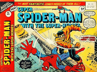 Super Spider-Man with the Super-Heroes #172, Luke Cage