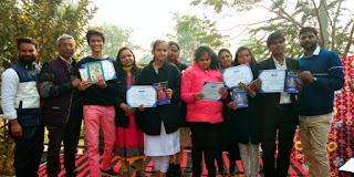 बाराबंकी : बुजुर्गों के साथ खुशनुमा माहौल में आंनद उत्सव का समापन