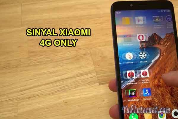 Cara Agar Sinyal Xiaomi Hanya 3g Atau H Saja Yukinternet