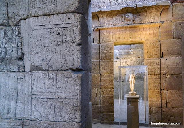 O templo egípcio de Dendur, no Metropolitan Museum de Nova York