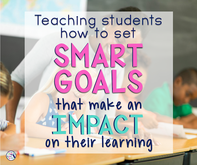 Teaching students how to set SMART goals that make an impact on their learning is easier than you think! Click here to learn more!
