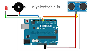 Social distancing alarm using arduino