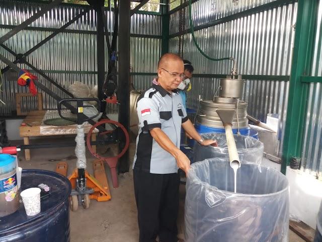 26 Oktober, Pabrik Aspal Karet Muba Mulai Operasional