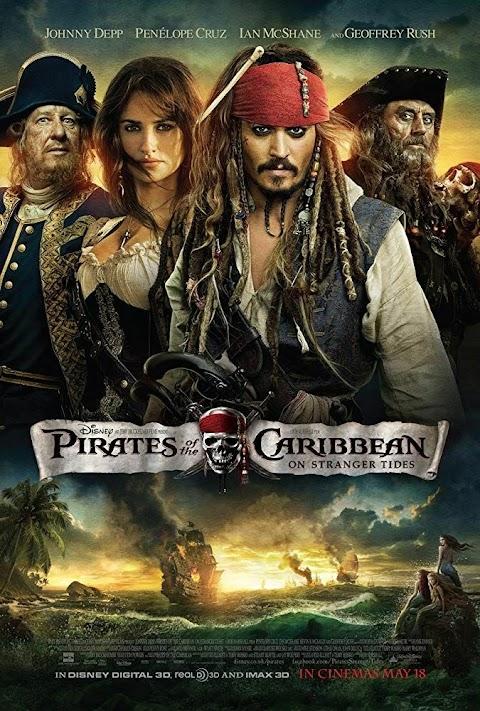 Pirates of the Caribbean: On Stranger Tides(2011) 480p & 720p BluRay Dual Audio (Hindi+English) Movie
