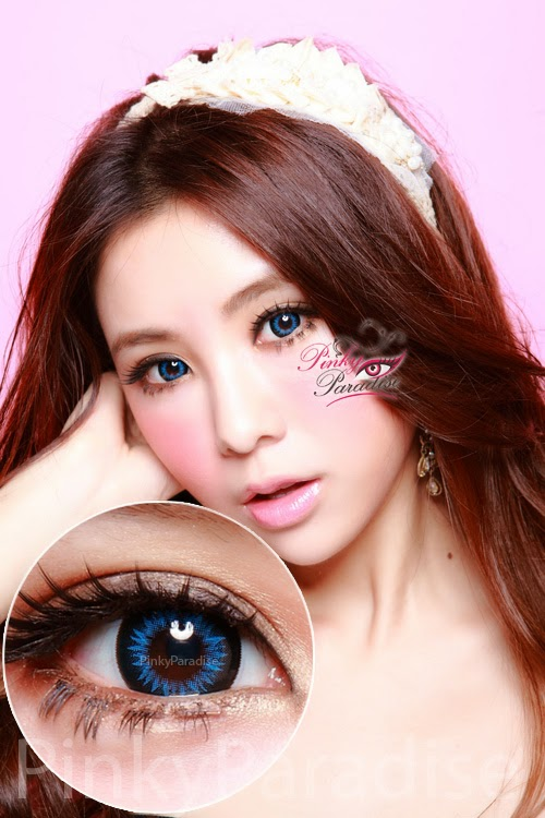 GEO Xtra WBS 202 Bella Blue Circle Lenses (Colored Contacts)