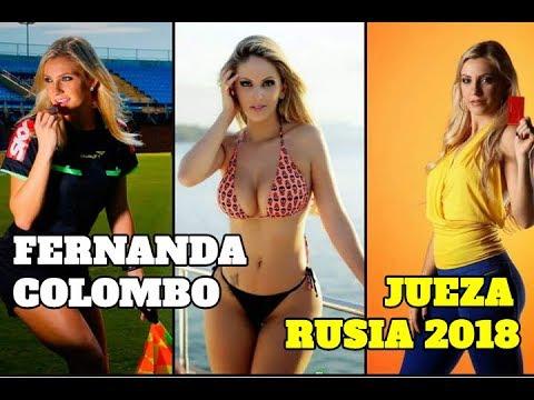 VIDEO: FERNANDA COLOMBO, LA ÁRBITRO BRASILEÑA QUE HARÁ HISTORIA EN RUSIA 2018