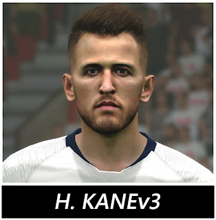 PES 2017 Faces Harry Kane by BenHussam