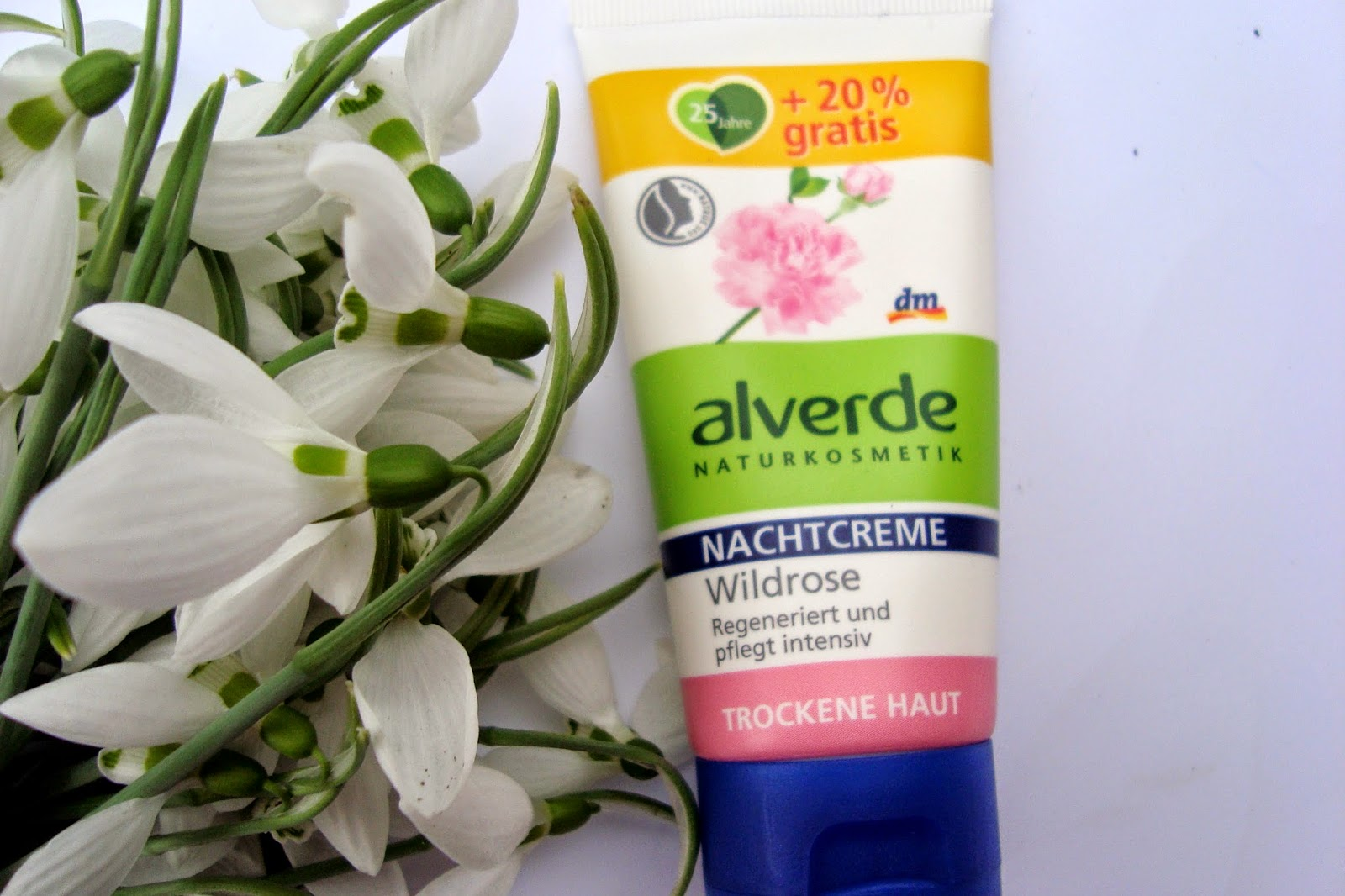 Alverde Nachtcreme Wildrose review
