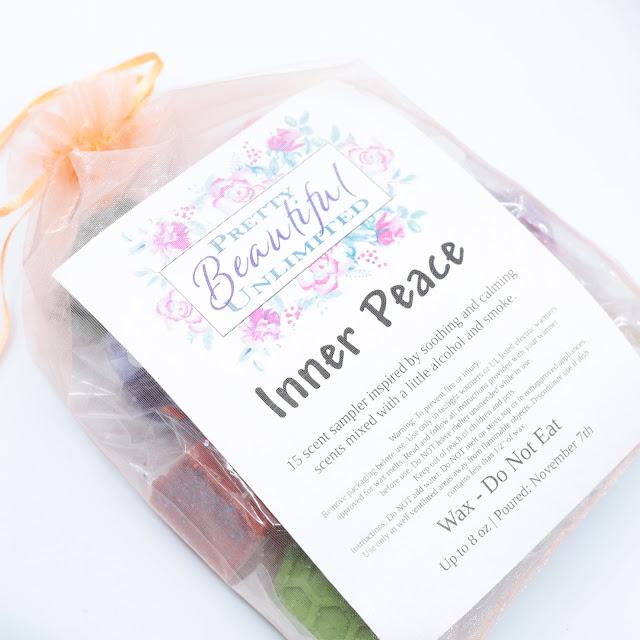 Pretty Beautiful Unlimited Inner Peace Wax Sampler