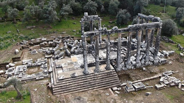 Zeus Temple in Graeco-Carian city of Euromos to be restored