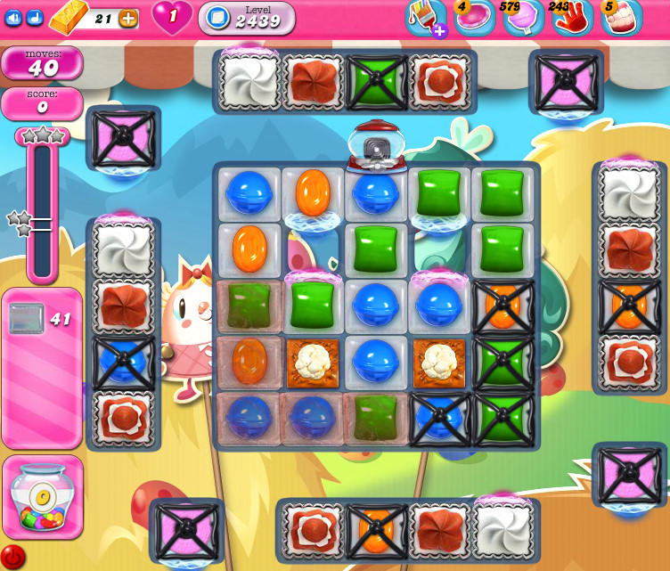 Candy Crush Saga level 2439