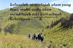 Kata Kata Persahabatan Pendaki Gunung