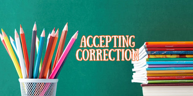 A Collection of 1-minute devotions about the biblical way to understand and accept Correction.