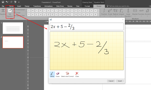 draw_equation_powerpoint