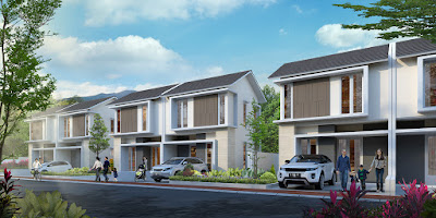 Model Rumah ORCHID 4 dan 4A, Citra Indah City