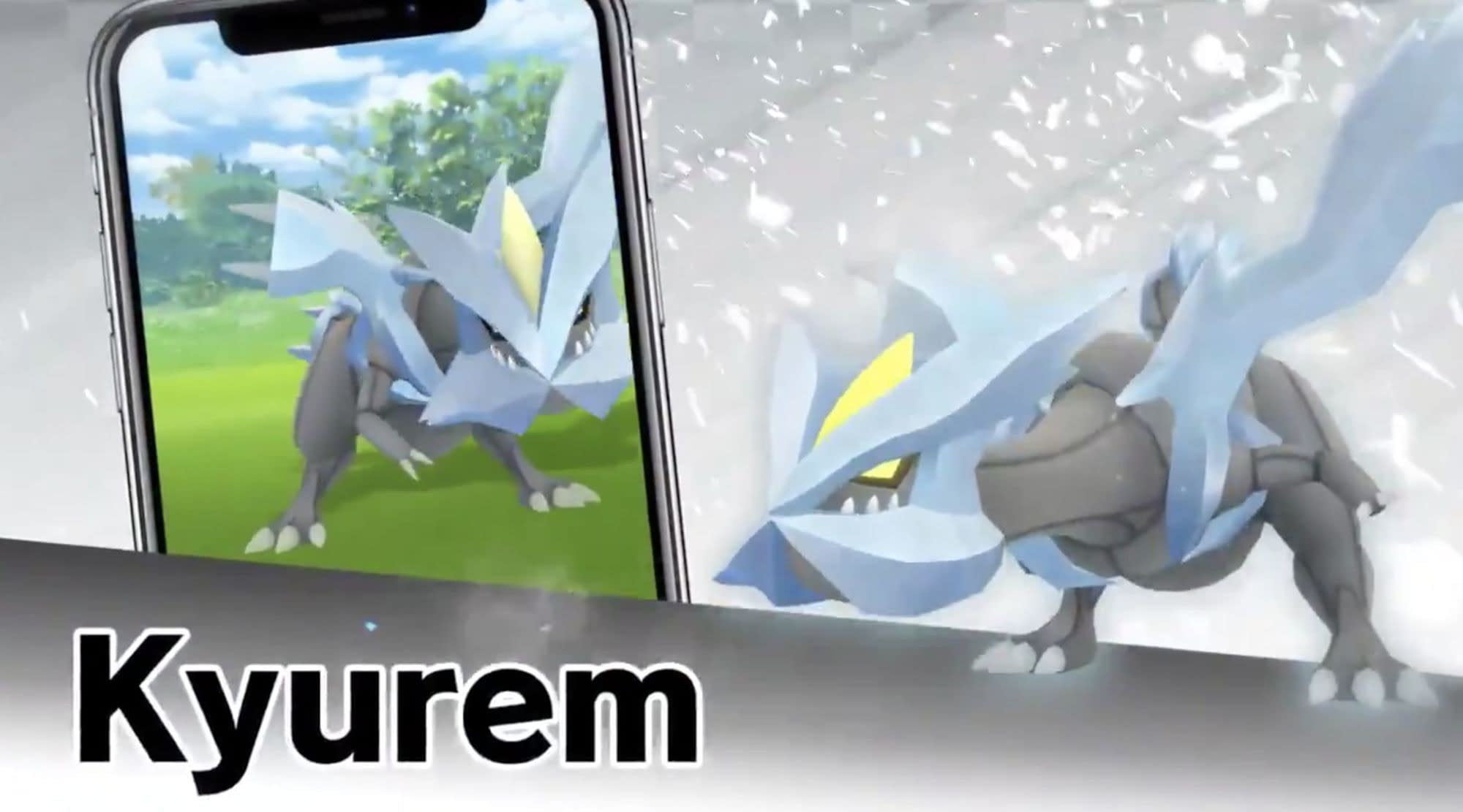 Pokémon GO: Raid lesson today with Kyurem - Use these attackers