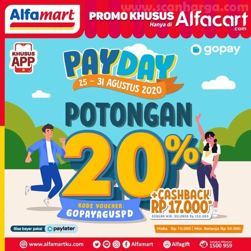 Alfamart Promo Alfacart Payday Terbaru 25 - 31 Agustus 2020