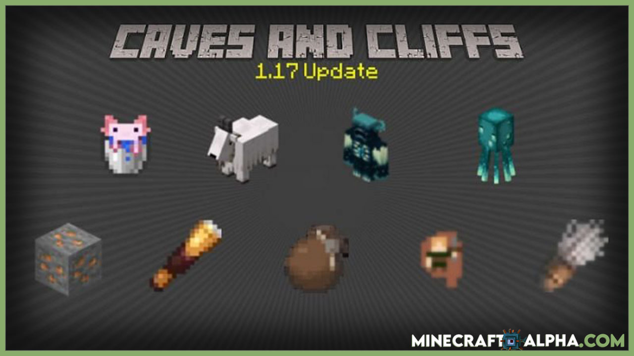 All Mobs Added To Minecraft New Update 1.17 Version