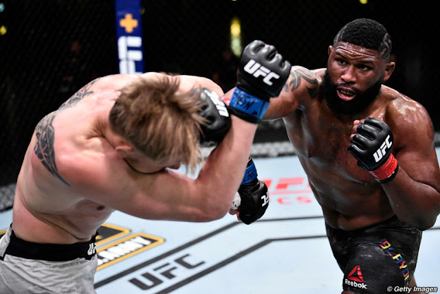 Curtis Blades Defeats Alexander Volkov UFC On ESPN 11