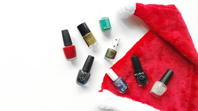 Christmas Nailpolish Doesn't Have To Be Green or Red, Ideas For Christmas Nailpolish