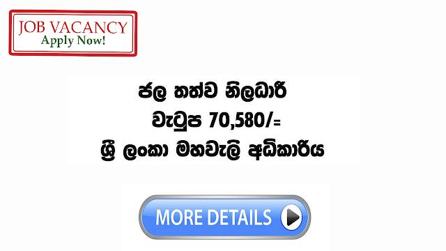 government job vacancies in sri lanka