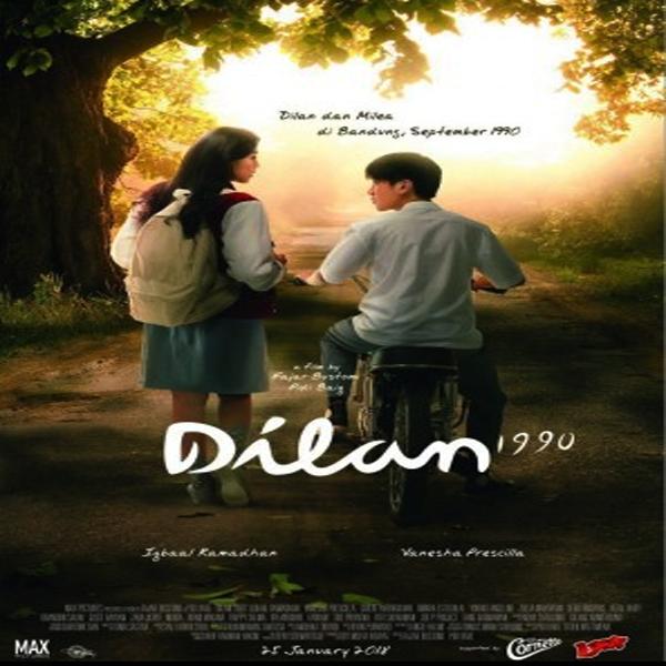 Dilan 1990, Dilan 1990 Synopsis, Dilan 1990 Trailer, Dilan 1990 Review, Poster Dilan 1990