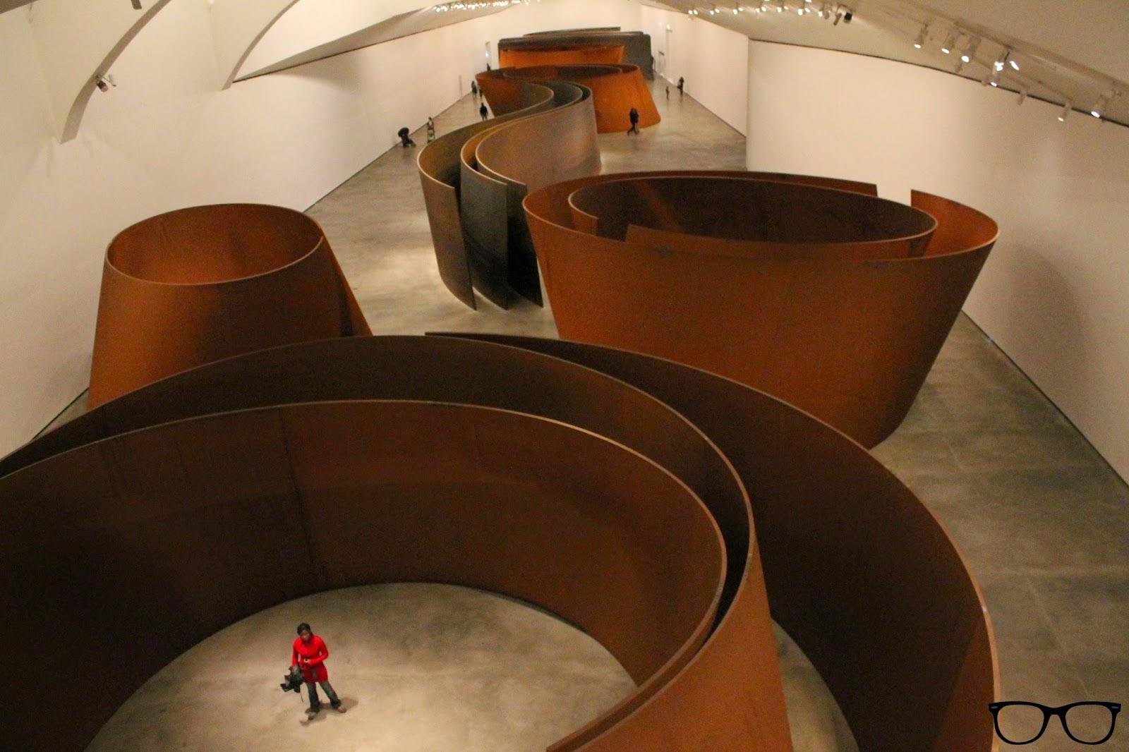 Obra: La materia del tiempo - Richard Serra