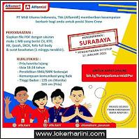 Loker Alfamidi Surabaya Terbaru Januari 2021