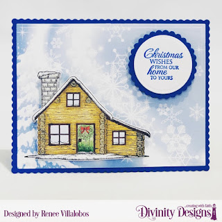 Stamp/Die Duos: Home  for the Holidays, Custom Dies: Scalloped Rectangles, Scalloped Circles, Circles, Paper Collection: Christmas 2019