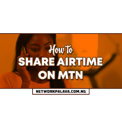 how to share airtime on mtn nigeria