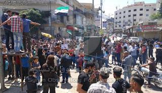 Warga Suriah Demo Kenaikan Harga, Protes Kehadiran Iran dan Rusia