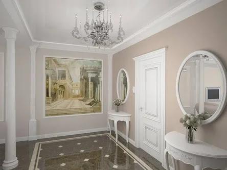 interior english style Hallway