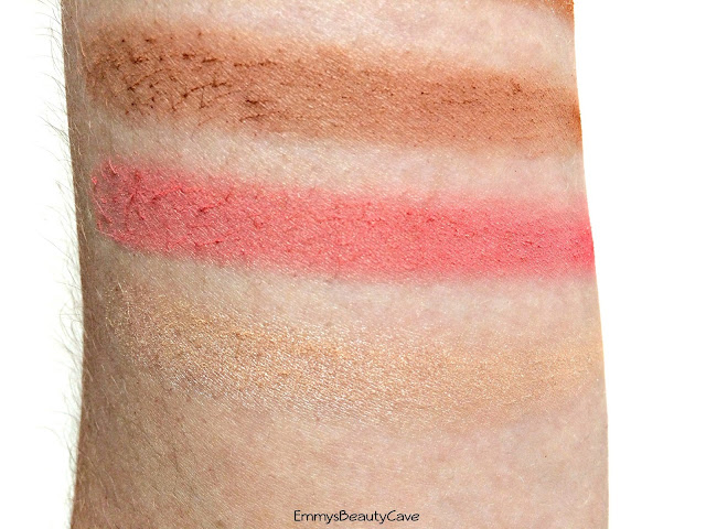 Crown Brush Blush Bronze Illuminate Swatches