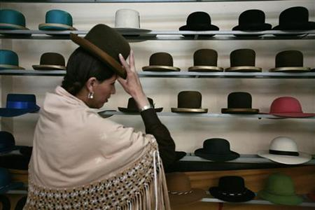 Auténticos sombreros para Cholitas. 3c1b0f127ce