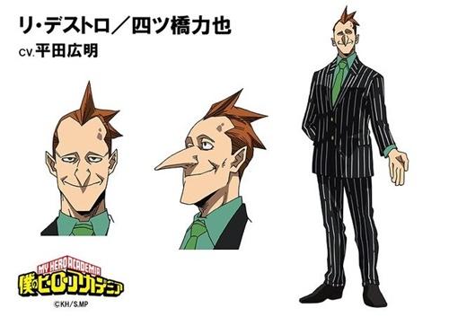 รีเดสโทร (Re-Destro) @ My Hero Academia: Boku no Hero Academia มายฮีโร่ อคาเดเมีย