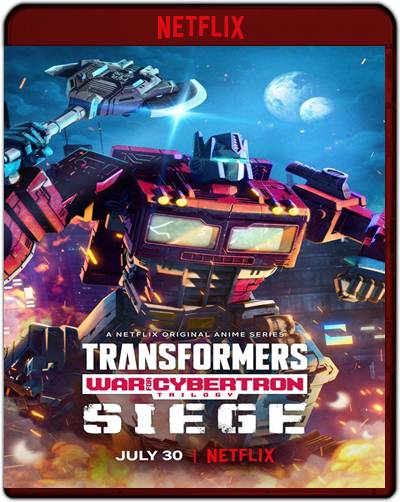 Transformers: War For Cybertron Trilogy: Siege - The Complete First Season (2020)