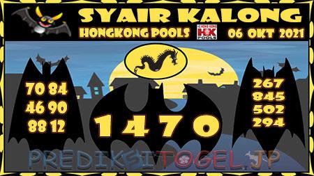 Kalong HK Rabu 06 Oktober 2021 -