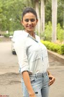Rakul Preet Singh in Jeans and White Shirt At Jaya Janaki Nayaka le Logo Launch ~  Exclusive 068.JPG