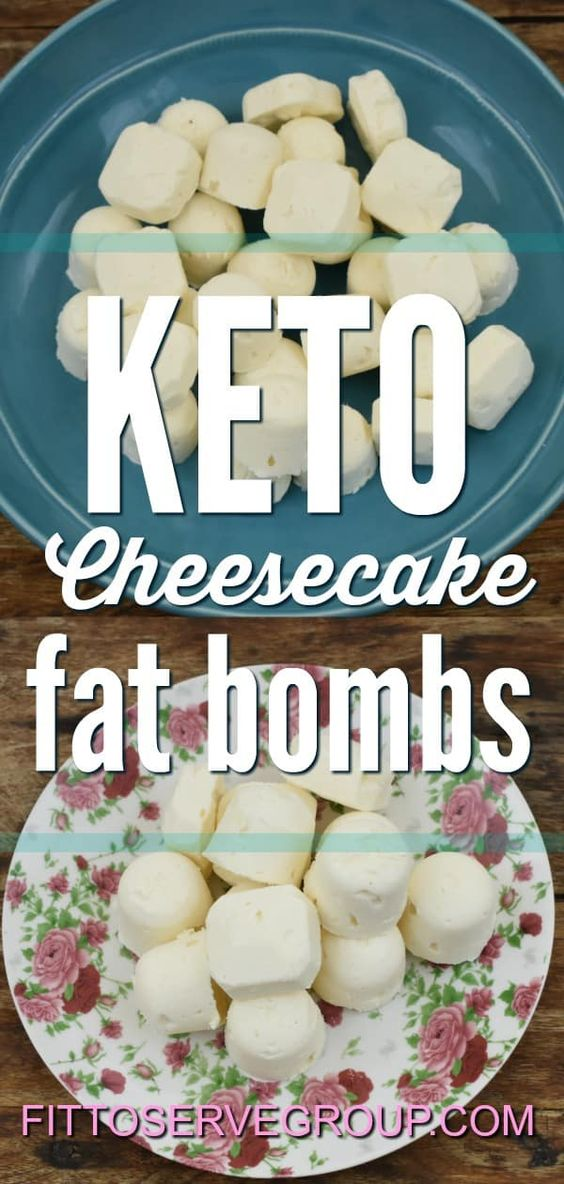A recipe for keto cheesecake fat bombs. These fat bombs include cream cheese, grass-fed butter, coconut oil for a healthy treat that is packed with flavor and nutrients.