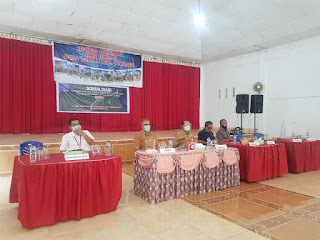 Dorong Percepatan Jalan Bandara - Likupang. Kepel Sosialisasi Pembebasan Lahan di Desa Tatelu